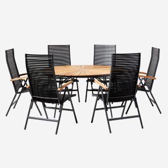 Ellen Mood Air Cafe Set 1 Table 2 Chairs, Olinde 8217 S Dining Room Furniture