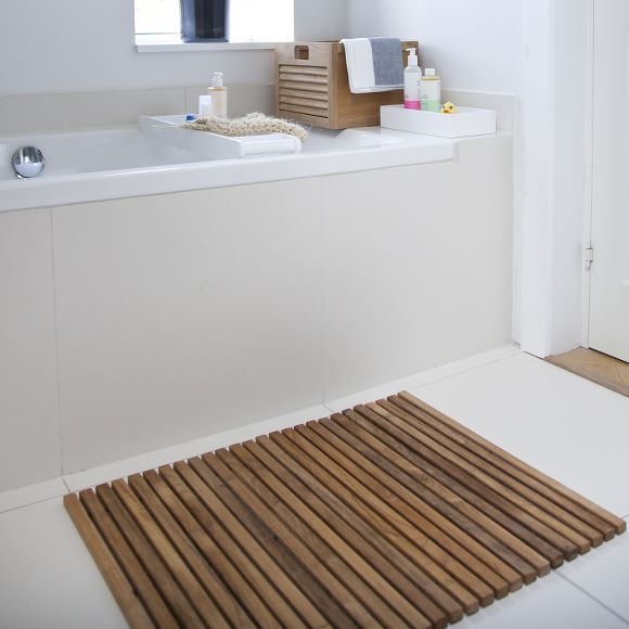 Bath Mat 40x60cm Teak