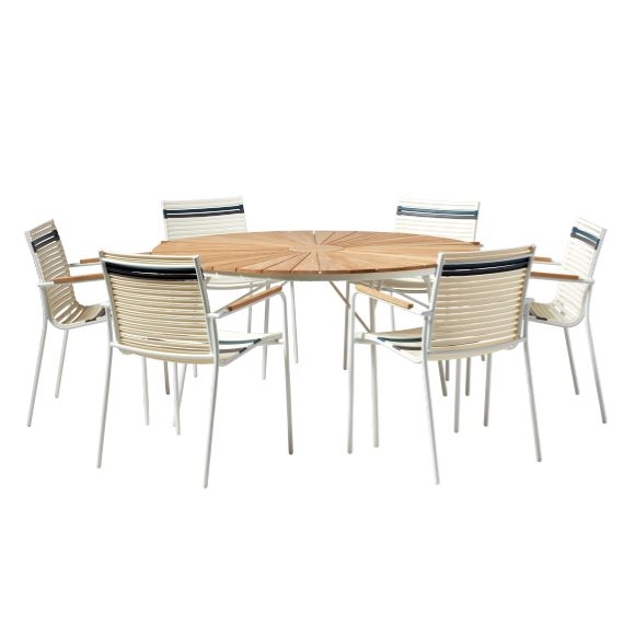 Ellen Mood Classic Set 1 Table 6 Chairs, Olinde 8217 S Dining Room Furniture